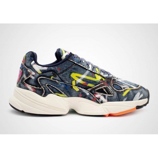 adidas Falcon WMNS Colorful Dark Blue/Navy Shoes C...