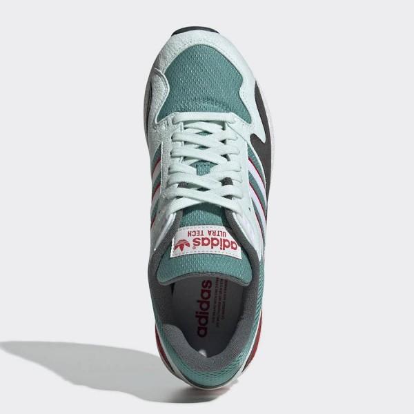 adidas Ultra Tech Green/Red/Grey Shoes BD7936