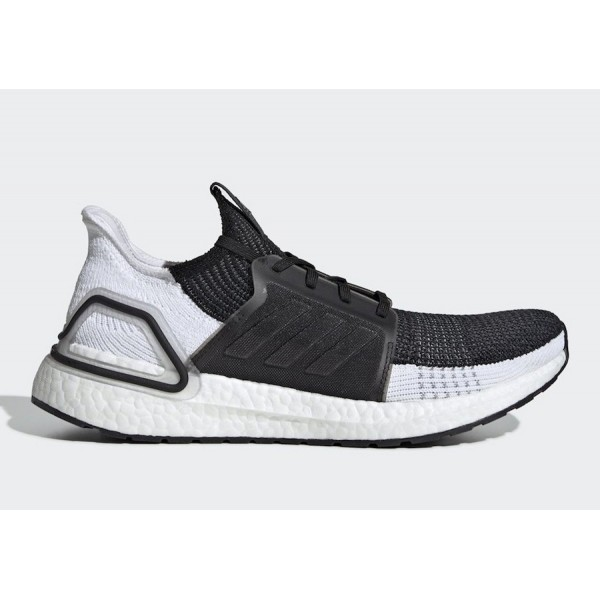 adidas Ultra Boost 2019 Black White Shoes B37704