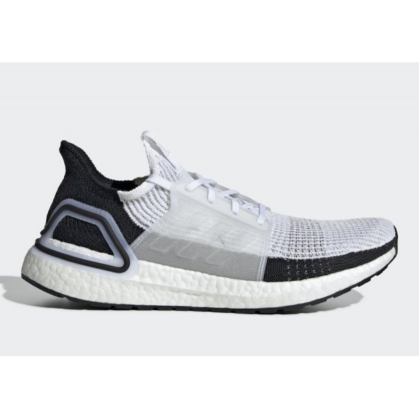 adidas Ultra Boost 2019 Core White/Core Black Shoe...