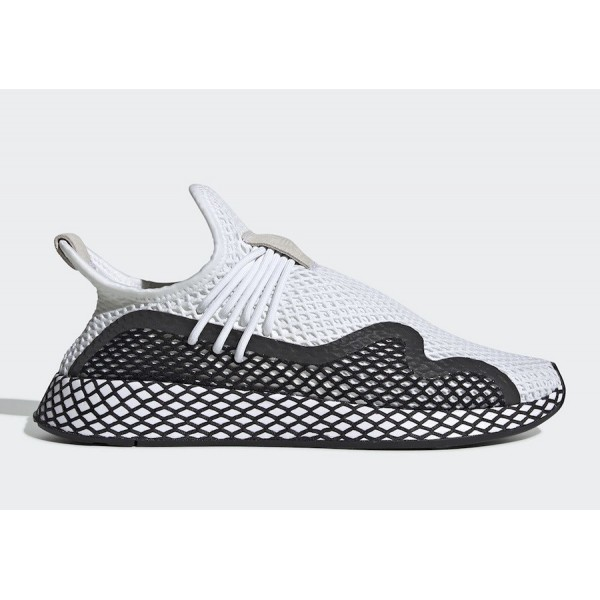 adidas Deerupt S White/Black Shoes BD7875