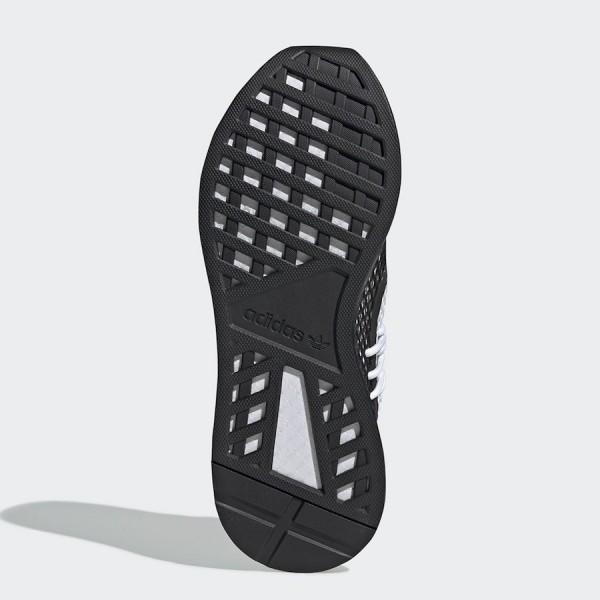 adidas Deerupt S White/Black Shoes BD7875