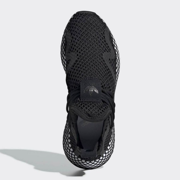 adidas Deerupt S Black Shoes BD7879
