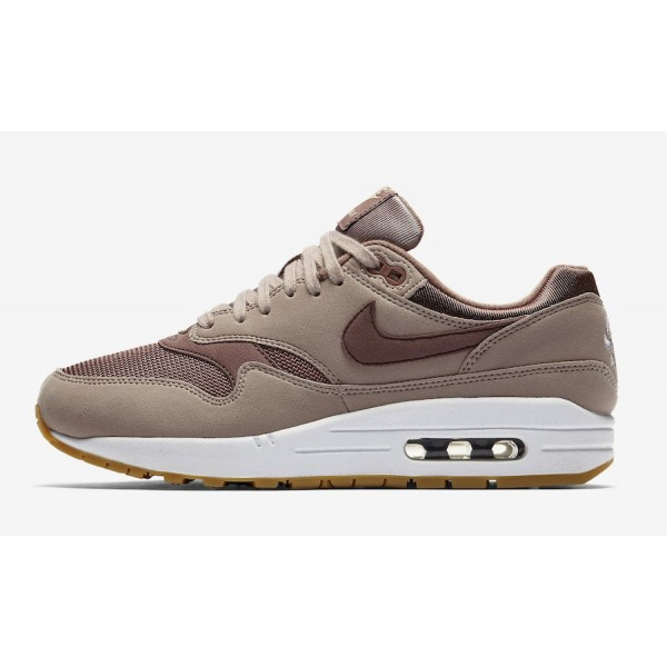 Nike Air Max 1 Diffused Taupe Marron Chaussures Fe...