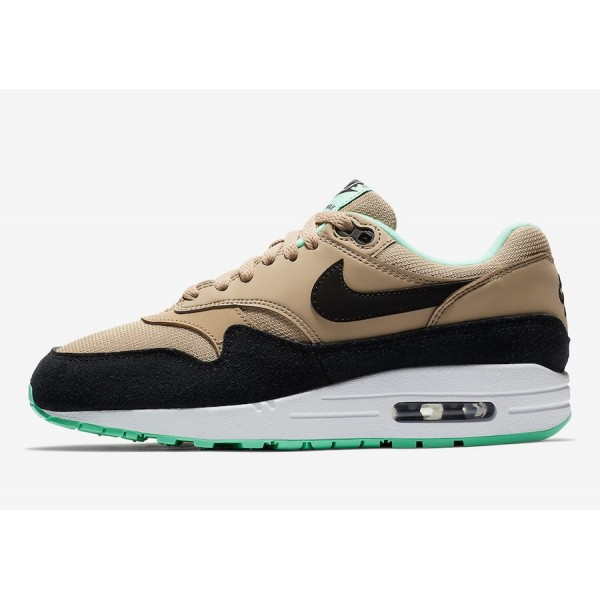Nike Air Max 1 Mint Vert Marron Chaussures Femme 319986-206