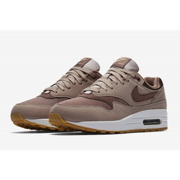 Nike Air Max 1 Diffused Taupe Marron Chaussures Femme 319986-204