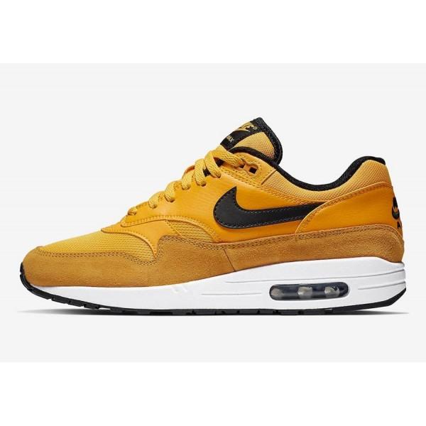 Nike Air Max 1 University Gold Noir Chaussures BV1...