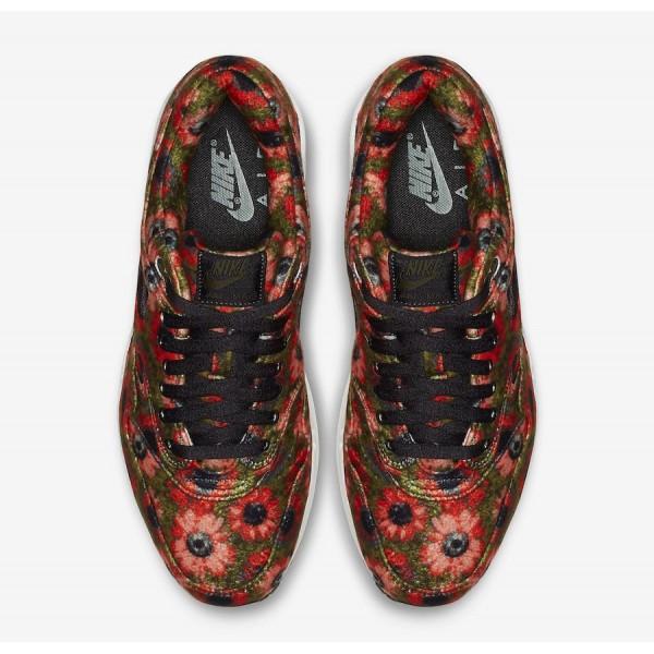 Nike Air Max 1 Premium Solar Daisy Noir Chaussures 858876-003