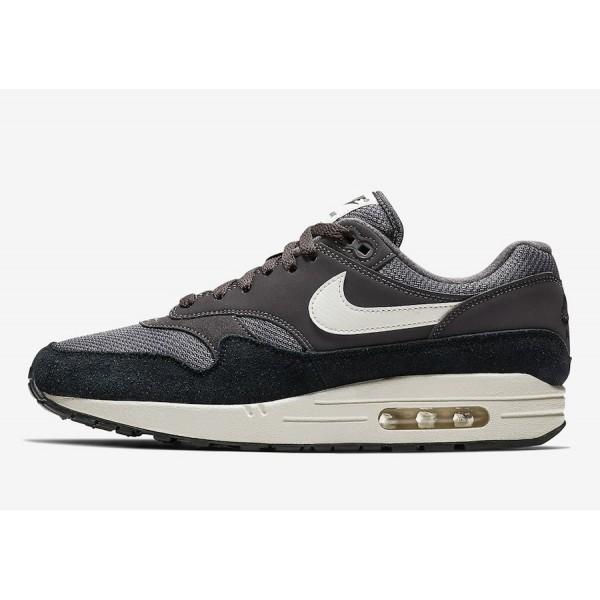 Nike Air Max 1 Thunder Gris Noir Chaussures Homme ...
