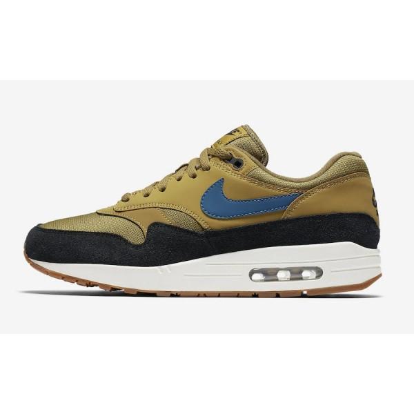 Nike Air Max 1 Golden Moss Noir Chaussures Homme A...