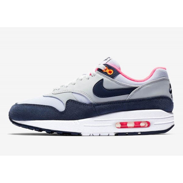 Nike Air Max 1 Midnight Navy Rose Chaussures Femme...