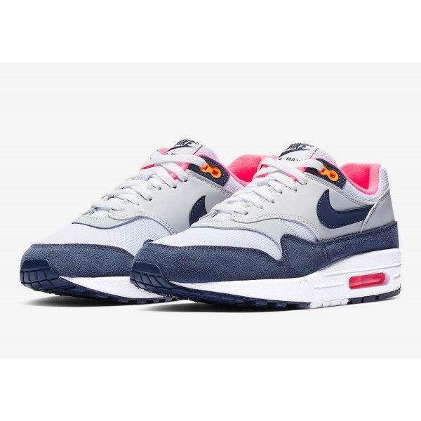 Nike Air Max 1 Midnight Navy Rose Chaussures Femme 319986-116