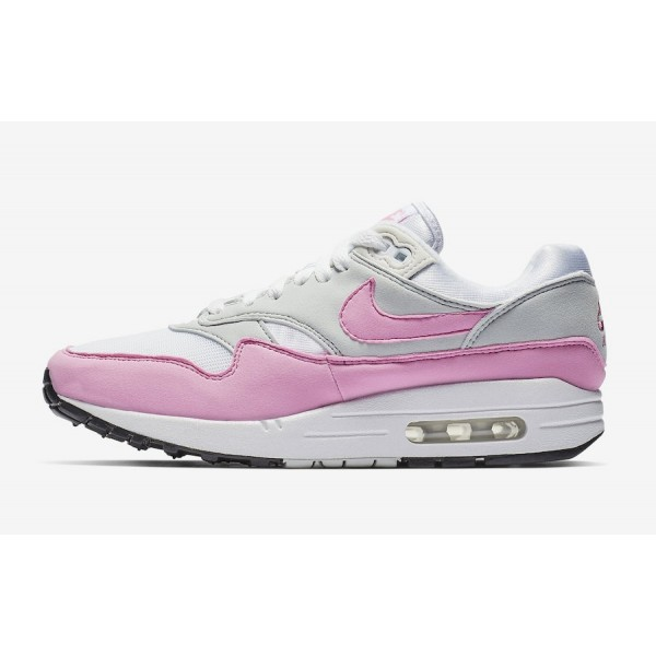 Nike Air Max 1 Blanche Psychic Rose Chaussures Fem...