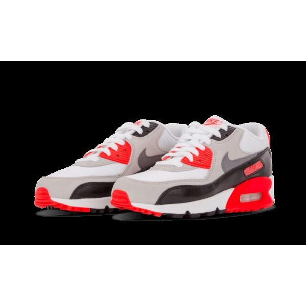 Nike Air Max 90 Prem Mesh Femme Blanche/Cool Gris/Neutre Gris/Noir 724882-100