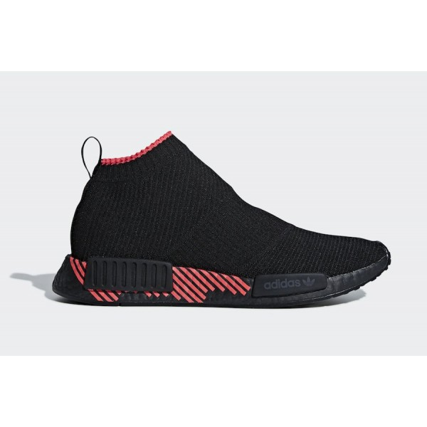 adidas NMD CS1 Core Black/Core Black-Shock Red Sho...