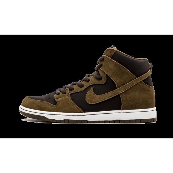 Homme Nike SB Zoom Dunk High PRO Sample Loden Fonc...