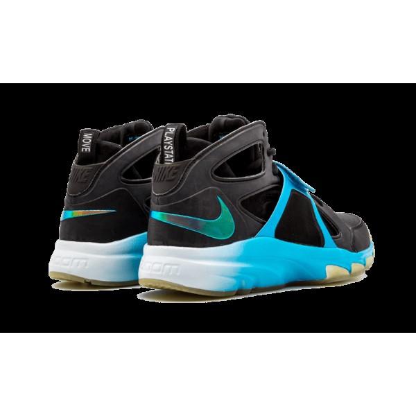 Nike Zoom Huarache TR MID Playstation Move 220524-LN4 Homme Noir/Vivid Bleu