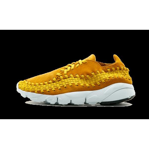 Nike Air Footscape Woven Ochre Or Chaussure de Hom...