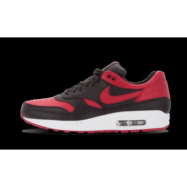 Nike Air Max 1 Premium QS Noir/Rouge/Blanche 66587...