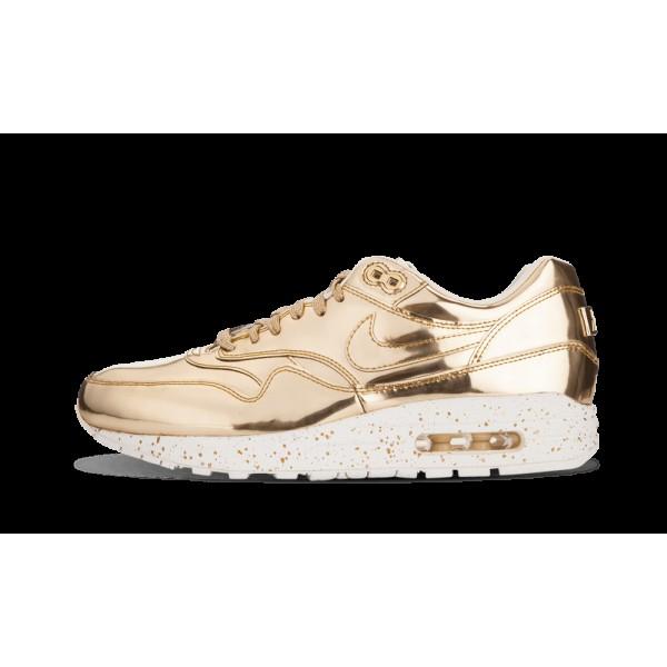 Nike Air Max 1 SP Or métallique/Voile 635786-770