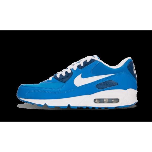 Nike Air Max 90 Premium Harbor Bleu/Blanche/Milita...