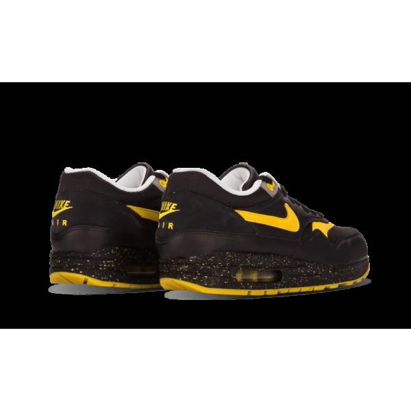 Nike Air Max 1 Premium TZ LAF Noir/Varsity Maize/Blanche/Soft Gris 372444-071