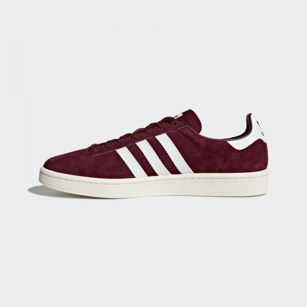 Homme Adidas Originals Campus Burgundy Blanche BZ0...