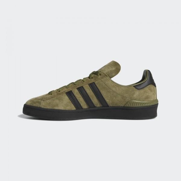 Adidas Campus ADV Chaussures Homme Vert Noir B2271...