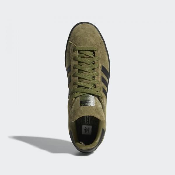 Adidas Campus ADV Chaussures Homme Vert Noir B22717