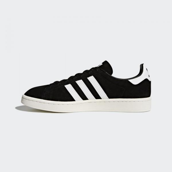 Homme Adidas Originals Campus Core Black/Blanche B...