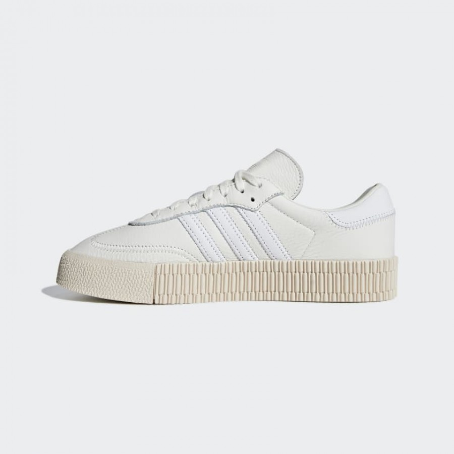 B28168 Adidas Femme Sambarose Off White/Linen Casual Shoes