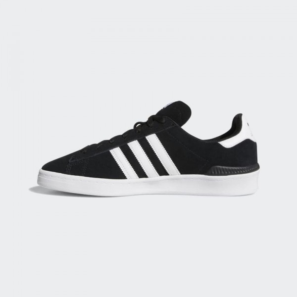 Adidas Campus ADV Core Black/Blanche Classic Shoes...