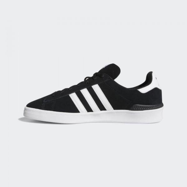 Adidas Campus ADV Core Black/Blanche Classic Shoes...