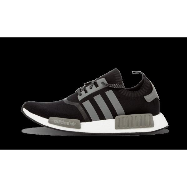 Adidas NMD Runner Pk Noir/Blanche/Reflective Argen...