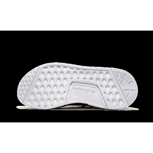 Adidas NMD R1 PK Primeknit Noir/Blanche  BA8629