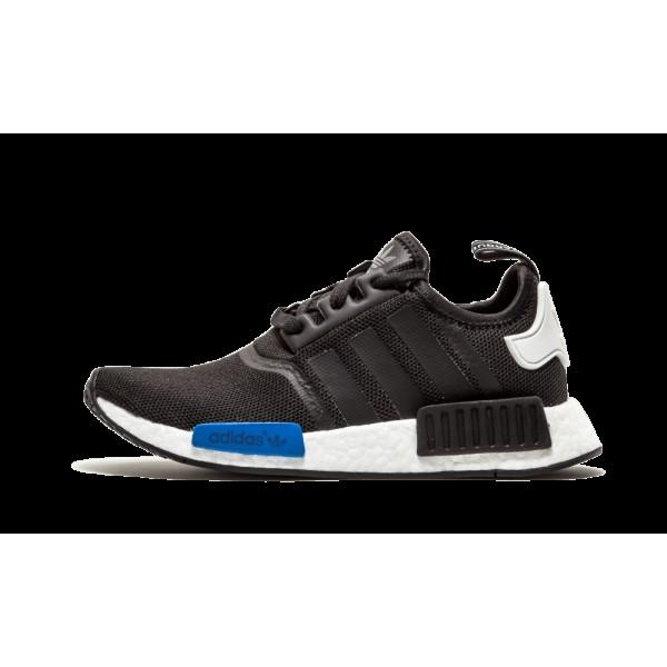 Adidas NMD Runner Core Noir Bleu Blanche S75338