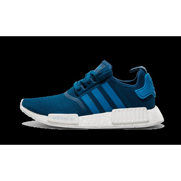 Adidas NMD R1 Tech Steel/Unity Bleu/Running Blanch...