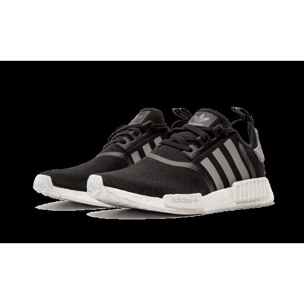 Adidas Homme NMD R1 Runner Mesh Noir S31504