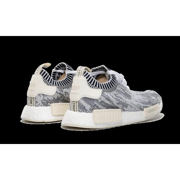 Adidas NMD_R1 PK Camo Pack Gris/Blanche/Crème BA8600