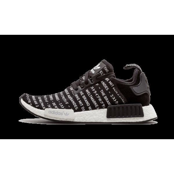 Adidas NMD_R1 Noir/Blanche S76519
