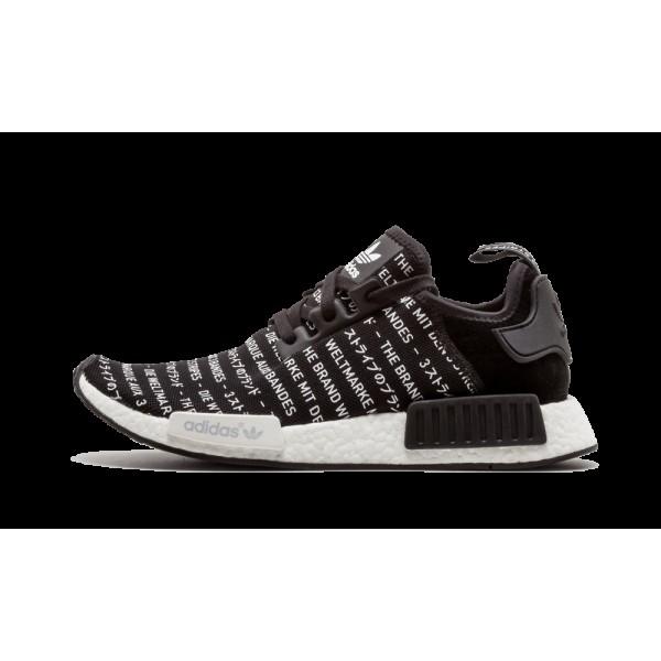 Adidas NMD_R1 Noir/Blanche S76519