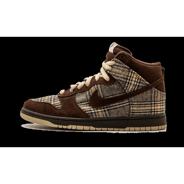 Ds Nike Dunk High Hi Pro Sb Tweed Baroque Marron U...
