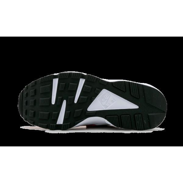 Homme Nike Air Huarache Université Rouge Noir Blanche True Berry 318429-604