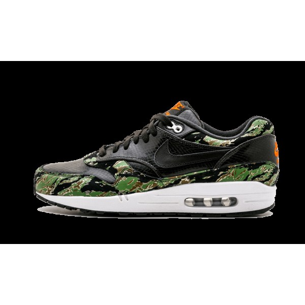 Nike Air Max 1 PRM Noir/Chlorophil/Orange Blaze 51...