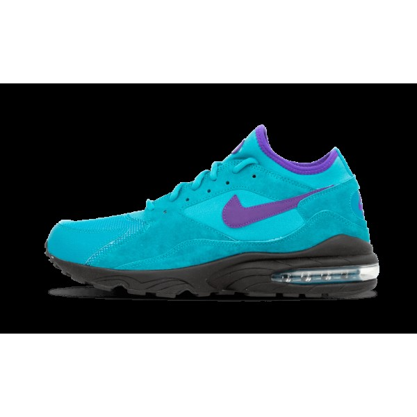 Nike Homme Air Max 93 Teal/Electric Pourpre/Bleu 3...