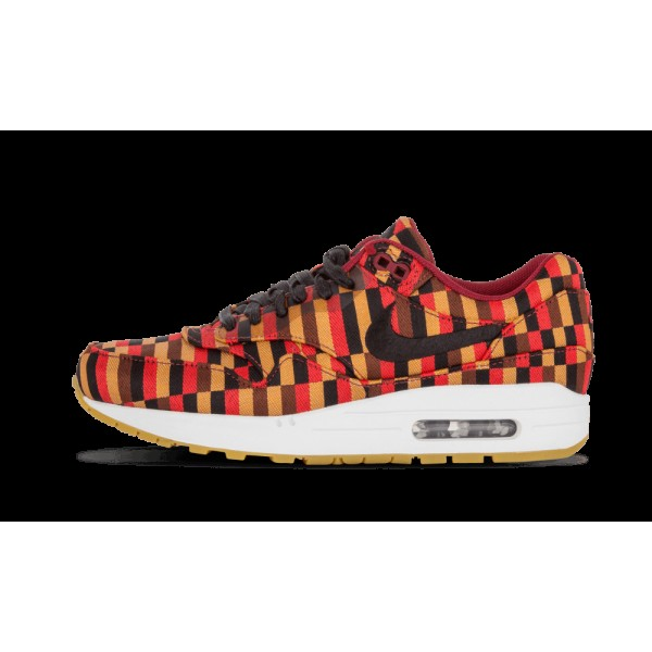 Nike Air Max 1 Woven SP Blanche/Noir/Pomagranate 6...