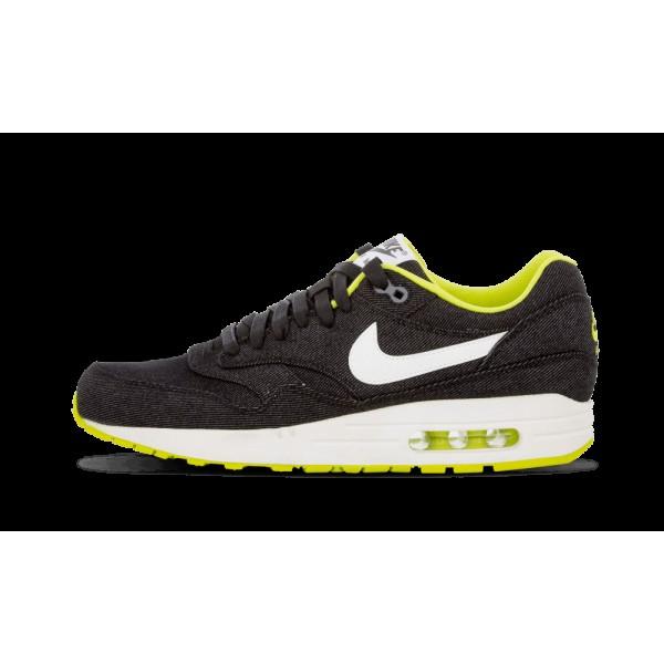 Nike Air Max 1 PRM Noir/Blanche/Cyber/Cool Gris 51...