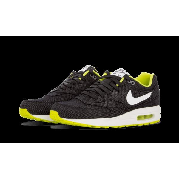 Nike Air Max 1 PRM Noir/Blanche/Cyber/Cool Gris 512033-019