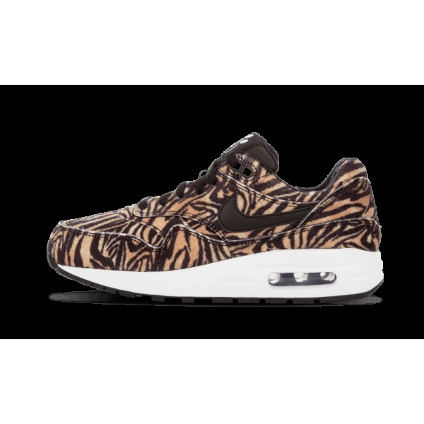 Nike Air Max 1 QS Femme Tawny/Noir/Blanche 827657-...