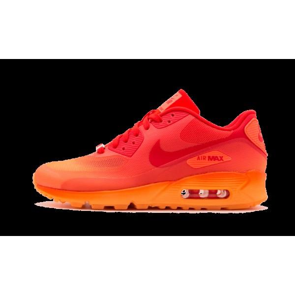 Nike Femme Air Max 90 Hyper Orange/Challenge Rouge...